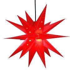 Gelb Weihnachtsstern 3d Beleuchteter Stern Adventsstern