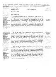 informal letter format pt com letter essay format pt3 starengineering throughout informal letter format pt3 24164