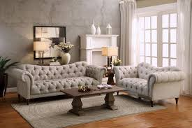 Homelegance Chesterfield Traditional Style Piece Living Room Set