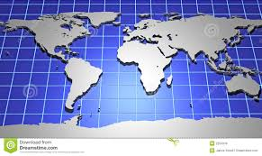 d earth map stock illustration image of continent ball
