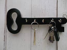 Wood Key Holder, Key Hooks,Cottage decor, Hang different ways, Choice of