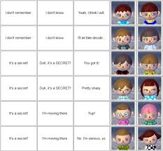 New Leaf Hair Color Chart Acnl Hair Dos Chart 2 Boy Girl Hair Styles Hair