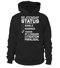 Litigation Paralegal Hoodie Teezily