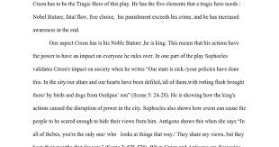antigone tragic hero essay google docs