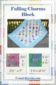 Falling Charms Block Quick And Easy Tutorial 2018 Quilts