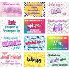 Set 12 Postkarten Mit Sprüchen Karten Mit Spruch Geschenkidee
