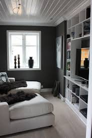 small media room ideas. Great Small Space Light Floors White Shelving And Ceiling With Short Dark Accent Wall Dream Home Pinterest Walls Spaces Media Room Ideas P