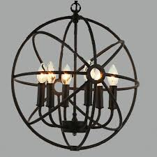 nordic american retro rustic chandeliers continental neoclassical wrought iron chandelier pendant lamps e14 bulbs flashlight with 362 5 piece on