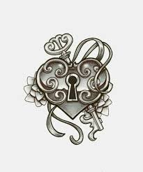 lock and key drawing. Brilliant And Drawing Heart And Heart Shape Image Throughout Lock And Key Drawing Y