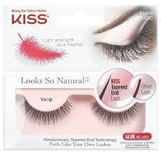 Купить <b>накладные ресницы</b> KISS <b>Looks</b> so Natural Eyelashes ...