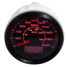 Ford Focus Red Cog Warning Light Universal Auto Car Gps Speedometer 200mph Red Led For Ford