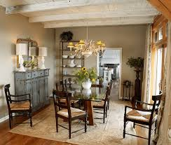 to decorate a buffet table in dining room