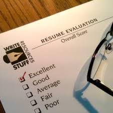 Resume Evaluation Service   Write Stuff Resources Write Stuff Resources Services  amp  Products