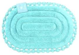 oval bathroom rugs attractive bath with echo aqua spa blue cotton mat extra large oval bath rugs