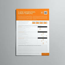 Survey Design Template Interior Questionnaire Client Satisfaction ...