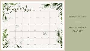 Calnedar Downloadable Content Calendar Planoly December2018 Planoly