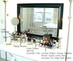 wall mounted makeup organizer vanity makeup wall organizer small wall makeup organizer wall mounted makeup organizer