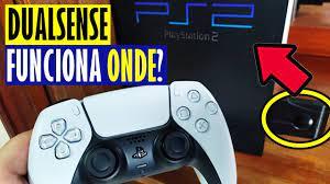 CONTROLE DO PS5 FUNCIONA NO PS2, PS3, PS4, CELULAR E PC? (Testando o  Dualsense) - YouTube
