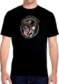 Mens Hanes Beefy T Patriotic Pow Mia Biker Tee Shirt Design 3