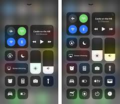 When you deep press on the system toggles pane, for example, a larger pane  pops open with previously hidden AirDrop and Personal Hotspot controls.