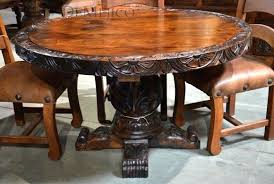 round wood dining table legs canada