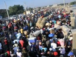 Resultado de imagen para fotos de haitianos en las calles de dajabon