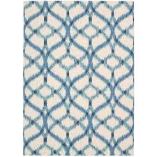 this review is from izmir ikat aegean 5 ft x 7 ft indoor outdoor area rug