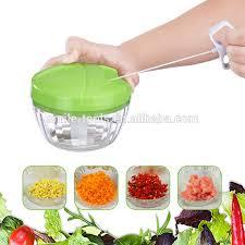 powerful hand held vegetable slicer manual speedy food chopper