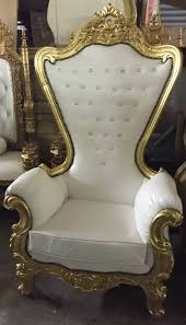 gold leather throne chairs 200 00 gold leather throne chairs 200 00
