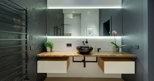 Image Led Strip Contemporist Reasons Why You Should Have Backlit Mirror In Your Bathroom