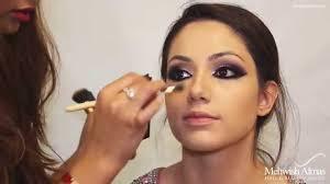 arabic inspired stani bridal makeup tutorial by mehwish almas you