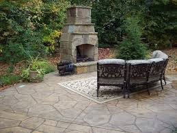 stamped concrete patio with fireplace. Patio-concrete-stamper-fireplace.jpg Stamped Concrete Patio With Fireplace