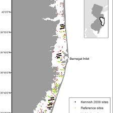 Barnegat Inlet Tide Chart 2016 Map Of Barnegat Bay Little Egg Harbor Bb Leh Study Area