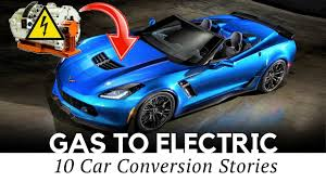 top 10 gas to electric car conversion projects engine to motor swaps