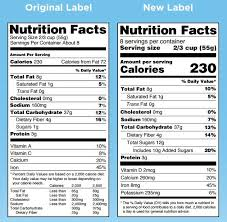 Fdas New Food Labels What To Know