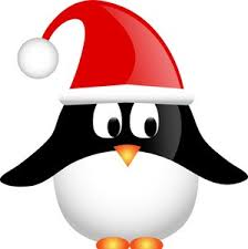 holiday penguin clip art. Delighful Clip Holidaypenguinclipart Christmas_penguin_with_santa_hat_0515101211135635_SMU For Holiday Penguin Clip Art A