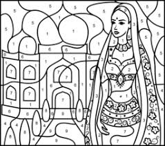 Indian Flag Printable Coloring Page Free India Pages Printables