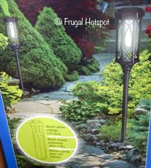 naturally solar torch pathway lights 2