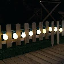 solar powered fence lights outdoor