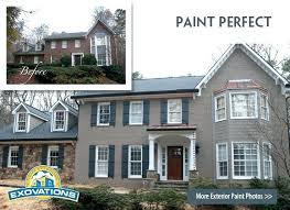 painting exterior brick house with painted brick before and after painting exterior brick house with painted brick before and after pictures exterior brick