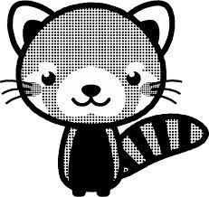 レッサーパンダのイラストlesser Panda動物素材のプチッチ