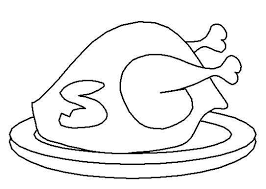 Small Picture Thanksgiving Cooked Turkey Coloring Pages GetColoringPagescom