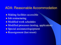 Reasonable Accommodation Process Flow Chart Ppt Eeo Compliance Training For Managers And Supervisors