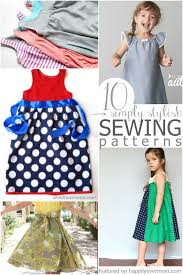 It's Sew Easy Patterns Extraordinary 48 Easy Patterns To Sew A Dress For A Girl Around The World