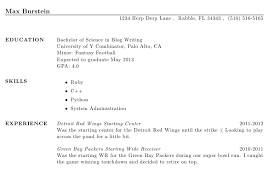 What To Put On Skills Section Of Resume Gorgeous Creating A Resume Using LaTeX Max Burstein's Blog