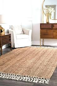 soft jute rug cool area rugs elegant hand made natural and wool blend with fringe