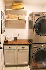 Washer And Dryer In Kitchen 17 Best Ideas About Stackable Washer And Dryer On Pinterest
