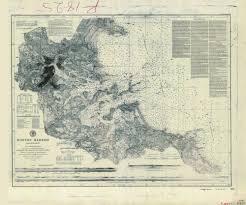 Historical Nautical Chart 337 00 1864 Boston Harbor