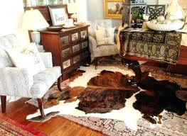 faux animal skin rugs image of cowhide rug room decor ideas furniture donation pick up canada medium size of pretty cowhide rugs as wells faux