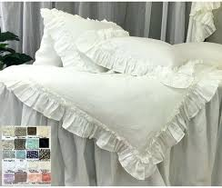 linen duvet cover with vintage ruffle pick your color matteo vintage linen duvet cover vintage linen
